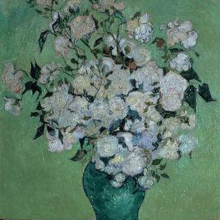 장미가 든 꽃병