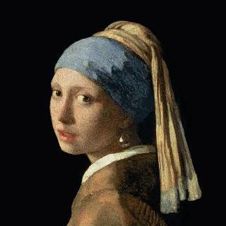 진주 귀걸이를 한 소녀