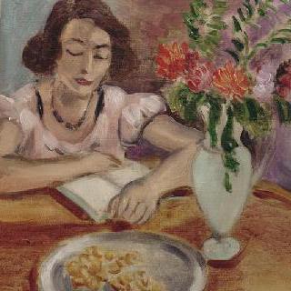 독서하는 여인