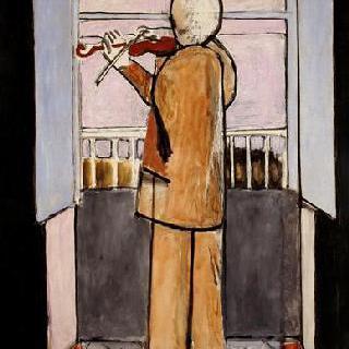 창가의 바이올리니스트