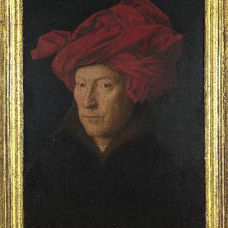 남자의 초상 또는 (붉은) 터번을 한 남자의 초상
