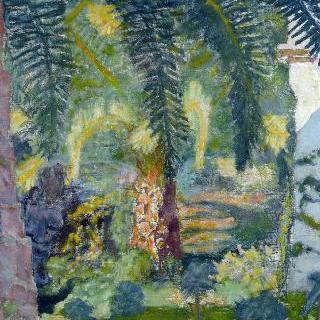카네의 야자수 나무