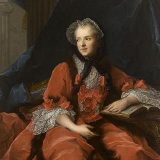 마리 레슈친스카 왕비의 1748년 초상