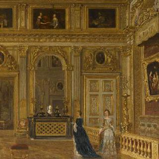 베르사유 궁 내 루이 14세의 침실