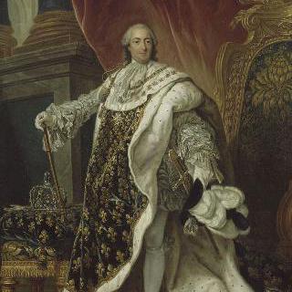 대관식 복장을 입은 루이 15세 (1710-1774)