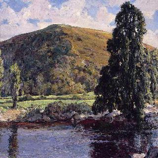 와이 강가의 돌도우로드 마을