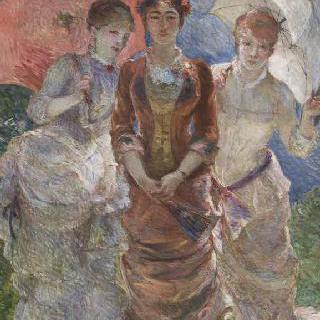 양산을 쓴 세 여인들, 일명 삼미신