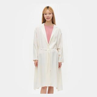 아이보리 로브 재킷