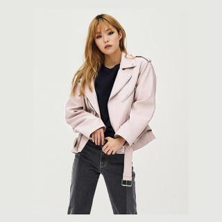 라이트 핑크 보이핏 라이더 재킷 GDragon GD 지드래곤 콜라보