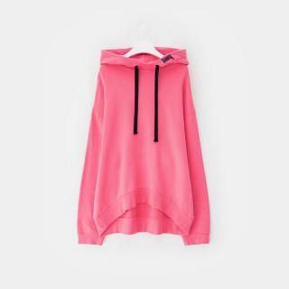 핑크 드롭숄더 롱 후드 티셔츠 GDragon GD 지드래곤 콜라보