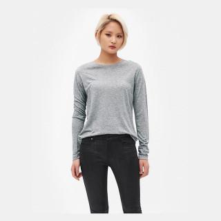 그레이 루즈핏 긴소매 티셔츠