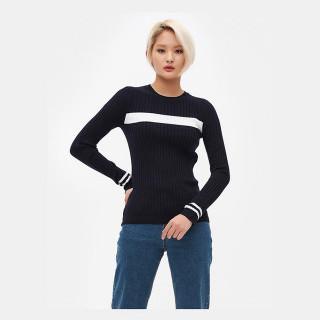 네이비 베이직 스웨터