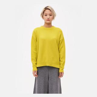 옐로우 오버사이즈 스웨터