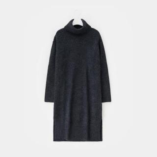 애쉬 터틀넥 롱 스웨터