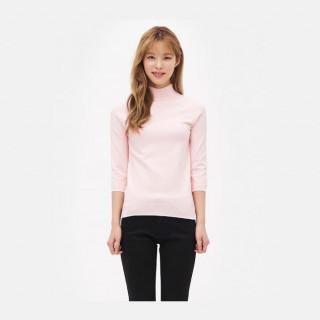 라이트 핑크 베이직 스웨터