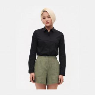 블랙 베이직 셔츠