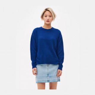 블루 오버사이즈 스웨터