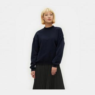 네이비 기모 하프넥 스웨트 셔츠