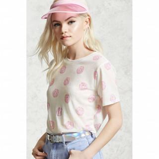 도넛 프린트 티셔츠