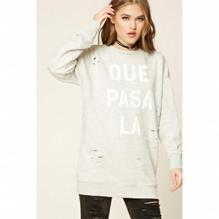 Que Pasa LA 그래픽 스웨트셔츠