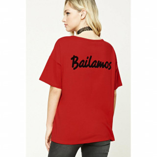 컨템포러리 Bailamos 티셔츠