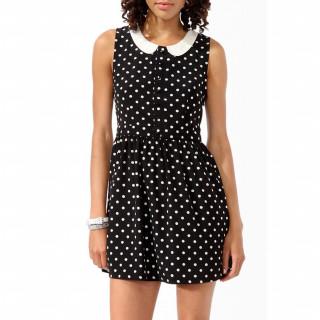 Polka dot printed 드레스