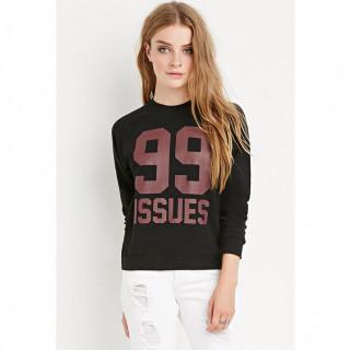 99 Issues 스웨트셔츠