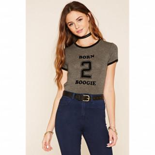Born 2 Boogie 그래픽 티셔츠