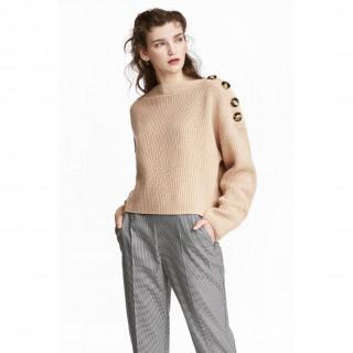 보트넥 스웨터