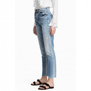 Vintage High Cropped Jeans