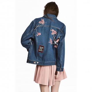 엠브로이더리 데님 재킷