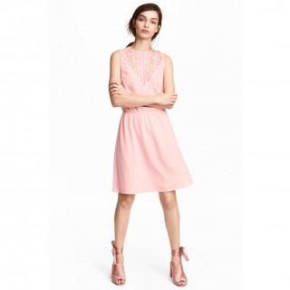 슬리브리스 드레스