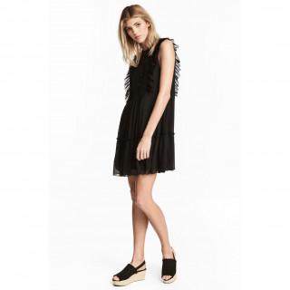 A라인 시폰 드레스
