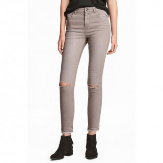 Skinny High Ripped Jeans