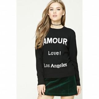 Amour 그래픽 스웨트셔츠