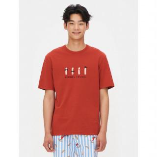 브릭 쉬림프 프렌즈 티셔츠