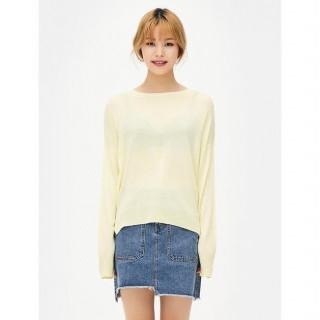 레몬 데일리 스웨터