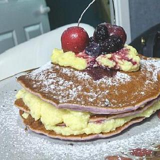 블루베리핫케이크