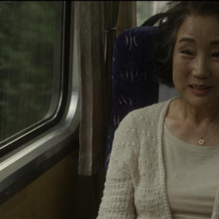 열차에서 만난 여사