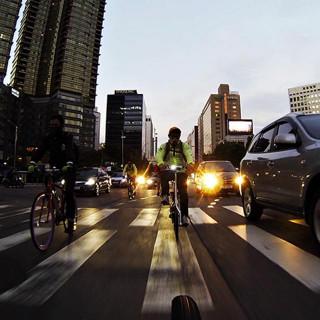 자전거, 도시
