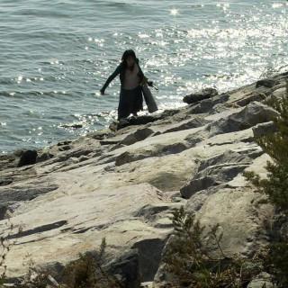 어젯밤 바닷가에서