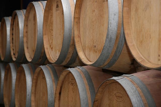 오크향이 살아있는 와인
